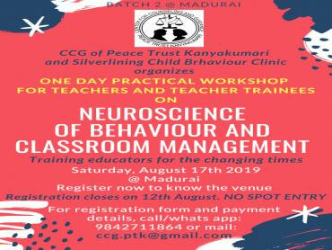 Madurai - workshop on Neuroscience