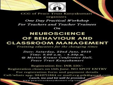 Neuroscience of Behaviour and Classroom Management