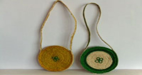 10'' Round Purse Rs. 35